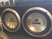 """VISONIK Speakers/Subwoofer 2 X 10"""" IN SUB BOX"""